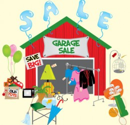 Garage/Art Sale Tuindorp verplaats naar sept 2016.