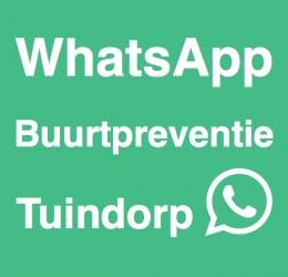 Introductie WhatsApp Buurtpreventie Tuindorp