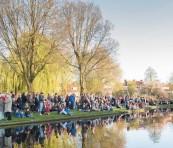 Foto's Dodenherdenking 2016