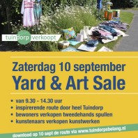 Yard & Art Sale en Repair Cafe