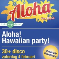 Aloha! Hawaiian party!