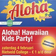 Aloha! Hawaiian kids party!