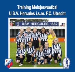 Voetbal voor meisjes bij USV Hercules