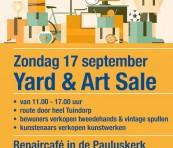 Yard & Art Sale en Repaircafe