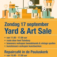 Yard & Art Sale en Repaircafe