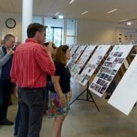 Foto's lezing en tentoonstelling lustrumdag