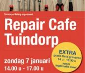 Repaircafé 7 januari 2018
