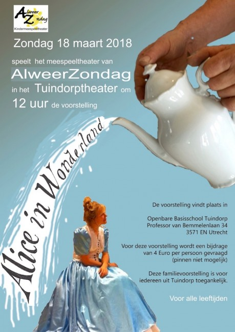 Voorstelling Alice in Wonderland