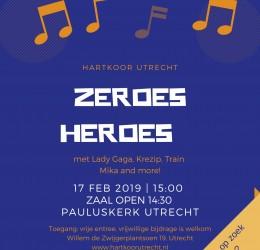 Hartkoor Utrecht 17 feb in de Pauluskerk