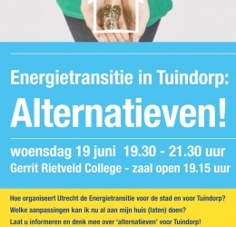 Energietransitie Tuindorp