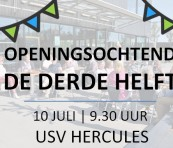 Primeur voor Nederland: Hercules zet sportkantine open voor ouderen uit de buurt