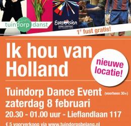 Tuindorp Dance Event: zaterdag 8 februari!