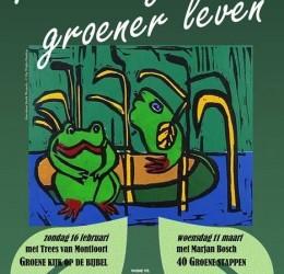 Bijeenkomsten 'Groener geloven, groener leven'