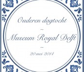 Ouderen dagtocht Royal Delft